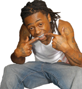 lil wayne and his grill have been featured in 100s of songs.