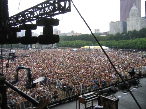 The crowds don't lie.  Arctic Monkeys at Lolla.